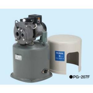 深井戸用圧力タンク式ポンプ(50Hz) テラル PG-207F-5 単相100V 200W 自動式 ジェット付属 maido-diy-reform
