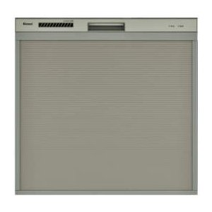 食器洗い乾燥機 リンナイ RSWA-C402C-SV スライドオープンタイプ 後付けタイプ シルバー [≦]|maido-diy-reform