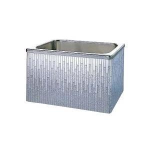 クリナップ 浴槽 SDL-102AW(R・L) モダンブロック・ステンレス浴槽 間口100cm 据置式2方全エプロン [♪△]|maido-diy-reform