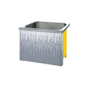 クリナップ 浴槽 SDL-81A(R・L) モダンブロック・ステンレス浴槽 間口80cm 据置式1方全エプロン [♪△]|maido-diy-reform