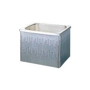 クリナップ 浴槽 SDL-82A(R・L) モダンブロック・ステンレス浴槽 間口80cm 据置式2方全エプロン [♪△]|maido-diy-reform