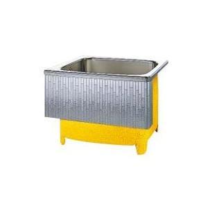 クリナップ 浴槽 SDL-91HW(R・L) モダンブロック・ステンレス浴槽 間口92cm 埋込式1方半エプロン [♪△]|maido-diy-reform