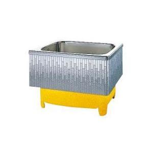 クリナップ 浴槽 SDL-92HW(R・L) モダンブロック・ステンレス浴槽 間口92cm 埋込式2方半エプロン [♪△]|maido-diy-reform