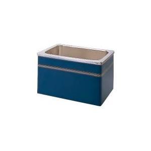 クリナップ 浴槽 SEB-102AW(R・L) ブルー(B) NEWインテリアバス・ステンレス浴槽 間口100cm 据置式2方全エプロン [♪△]|maido-diy-reform