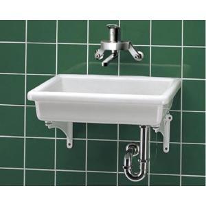 手洗器 特定施設用 TOTO SK7 陶器製流し(小形) 流しのみ 研究室・実験室用器具 [■♪]|maido-diy-reform