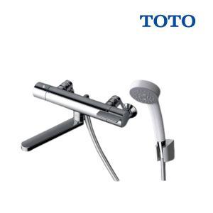 【在庫あり】TOTO 浴室用水栓金具 TBV03401J GGシリーズ 壁付サーモスタット混合水栓(コンフォートウェーブシャワー) スパウト170mm TMGG40E後継品 [☆2]の画像