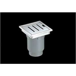 浴室排水ユニット TOTO YTB150SR 縦引きトラップ ステンレス 非防水層タイプ 150角タイル用 [■]|maido-diy-reform