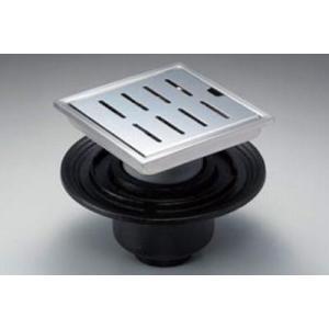 浴室排水ユニット TOTO YTB600SBS ステンレス 防水層タイプ 縦引きトラップ 150角タイル用 [■] maido-diy-reform