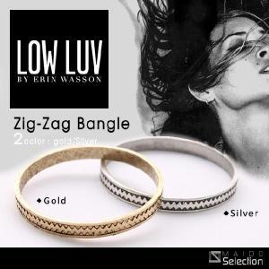 Low Luv ローラブ ジグザグ バングル Zig-Zag Bangle ロウラブ maido-selection