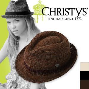 クリスティーズ ハット ニンビン CCS512 CHRISTYS' HAT NIMBIN ストローハット カンカン帽|maido-selection