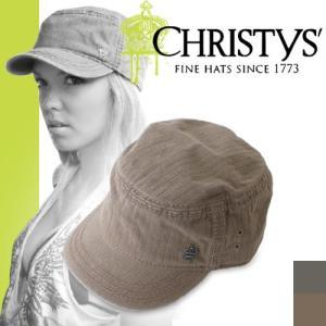 クリスティーズ ハット トラバルツイルカデット CCS922 CHRISTYS' HAT TRABAL TWILL CADET ワークキャップ|maido-selection