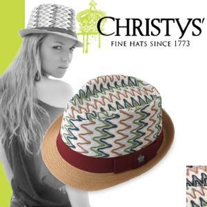クリスティーズ ハット キャロライン CCS931 CHRISTYS' HAT CAROLINE ストローハット カンカン帽|maido-selection