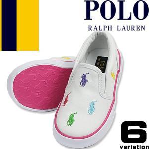 d1d98026f4b9f ポロ ラルフローレン Polo Ralph Lauren スニーカー キッズ ジュニア ベビー スリッポン 白 子供靴 通学靴 運動靴 おしゃれ 女の子  男の子 BAL HARBOUR