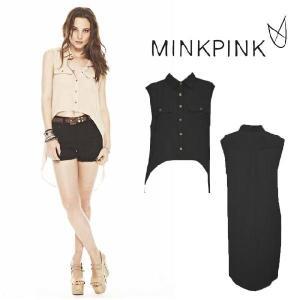 ミンクピンク MINKPINK ロングレンジャー シャツ MINK PINK メール便発送|maido-selection