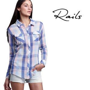 レイルズ Rails チェックシャツ Taylor Gauze Shirt|maido-selection