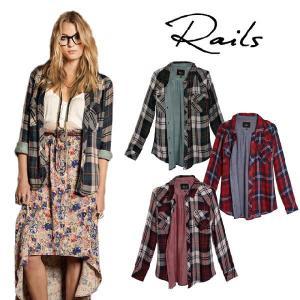 レイルズ Rails チェックシャツ テンセル Kendra Tencel Buttondown Shirt|maido-selection