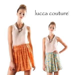 Lucca Couture ルッカクチュール レーシーニット タンクトップ メール便発送 maido-selection