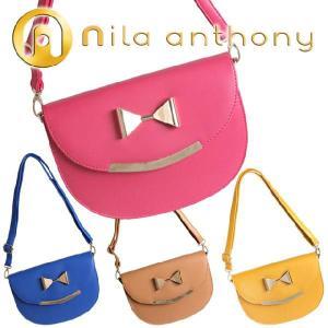 ニラアンソニー Nila Anthony ポップカラーメタルリボン ショルダーバッグ|maido-selection