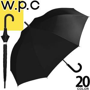 wpc w.p.c 傘 長傘 メンズ レディース 2019新作 ワンタッチ ジャンプ 大きいサイズ 大きめ ブランド おしゃれ 丈夫 軽量 雨傘 65cm 星 チェック ストライプ 無地|maido-selection