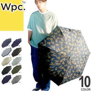 wpc w.p.c 折りたたみ傘 レディース メンズ 2019新作 雨傘 軽量 超軽量 大きい 丈夫...