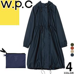 wpc w.p.c レインコート レディース 2019年モデル レインウェア カッパ 防水 撥水 通学 通勤 おしゃれ かわいい LONG MODS R-1101|maido-selection
