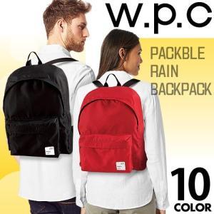 wpc w.p.c リュック バッグパック バッグ カバン 鞄 レディース メンズ パッカブル おし...