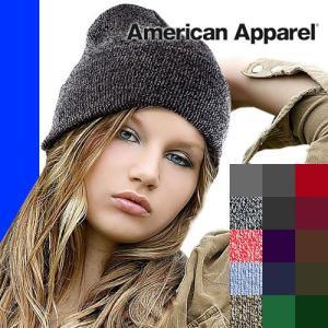 アメリカンアパレル ニット帽 帽子 レディース メンズ ブランド かわいい 大きいサイズ プレゼント 秋冬 黒 赤 グレー ボブキャップ American Apparel|maido-selection