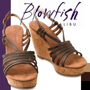 ブローフィッシュ ブロウフィッシュ タッド Blowfish TAD アンクルストラップ サンダル ウェッジソール|maido-selection