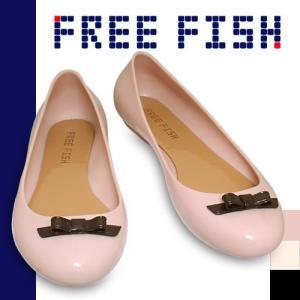 フリーフィッシュ チェリーバーブ FREE FISH Cherry Barb リボン付き パンプス サンダル ラバーシューズ レインシューズ|maido-selection