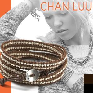 チャンルー CHAN LUU ブレスレット 正規品 ラップブレスレット スターリングシルバー|maido-selection