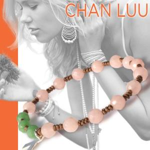 チャンルー CHAN LUU ミックス シングル ブレスレット 正規品 ピンクリボン チャリティー|maido-selection