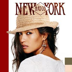 ニューヨークハット NEW YORK HAT 帽子 ラフィア シーグラス フェドラ|maido-selection