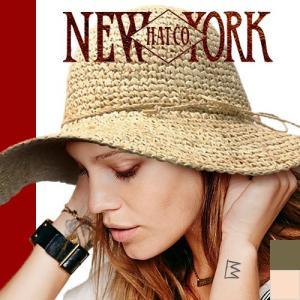 ニューヨークハット NEW YORK HAT 帽子 ラフィア シーグラス フロッピー|maido-selection