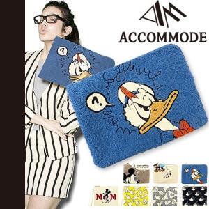 アコモデ ディズニー クラッチバッグ サガラ ポーチ サガラ刺繍 ACCOMMODE Disney|maido-selection