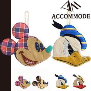 アコモデ ディズニー ポーチ パッチワークポーチ ACCOMMODE Disney メール便発送|maido-selection