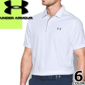 アンダーアーマー UNDER ARMOUR ポロシャツ ゴルフ メンズ 半袖 大きいサイズ ヒートギア テックポロ スポーツウェア Tech Polo Shirt 1290140 [メール便発送]