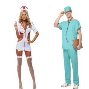 H00001カップル服 看護婦  セクシーナース 白衣の天使...