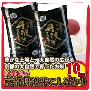 京都府産 京都 丹波米 こしひかり 10kg(5kg×2袋) 白米 通販  豊かな土壌と、大自然の広がる京都の大自然で育ったお米|mailife
