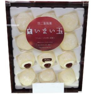 前田製菓 白いまい玉 チョコレート入り羽二重餅 12個入 maimonechizen