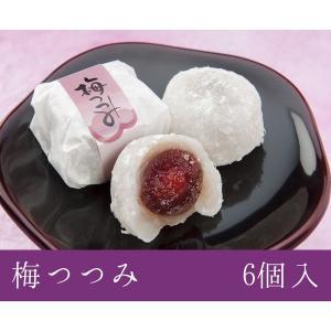 福井銘菓 和菓子スイーツギフト 梅つつみ 6個入 村中甘泉堂 maimonechizen