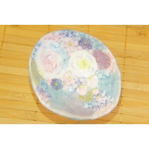 即納できます 工房ゆずりは 彩ばら花紋 小付 母の日 瀬戸焼 花柄 紫 プレゼント ギフト 内祝い maimustone-y