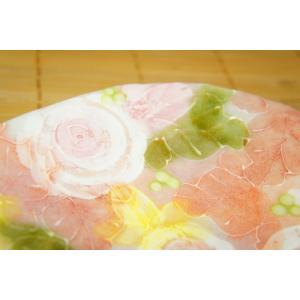 工房ゆずりは 釉彩ローズ ケーキ皿 瀬戸焼 皿 デザート皿 花柄 ピンク プレゼント ギフト 内祝い maimustone-y 04