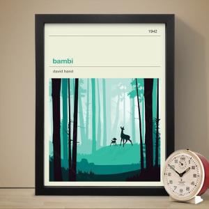 イギリスのイラストレーター ロウ&ムーアによるアートプリントポスターです。(フレームは付いていません...