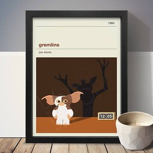(定形外郵便送料無料) Gremlins グレムリン A3 アート ポスター 映画 movie リビング Art Poster