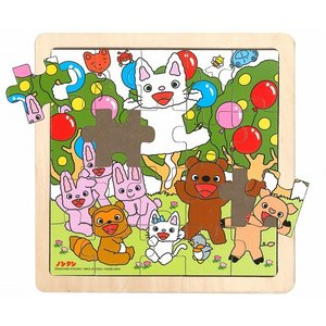 かわいいノンタンが木製パズルになりました!! 元気いっぱいのノンタン、タータンとお友達の楽しいパズル...