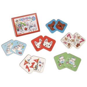 年少さんから楽しめるメモリーゲーム(神経衰弱ゲーム)。  数あわせや色あわせで数字と色の名前も覚えら...