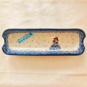 コーンディッシュ ポーリッシュポタリー Ceramika Artystyczna ツェラミカ アルティスティチナ トレイ|maison-fleurie