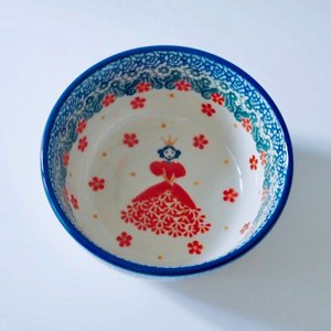 12cm ボウル ポーリッシュポタリー Ceramika Artystyczna ツェラミカ アルティスティチナ セラミカ|maison-fleurie