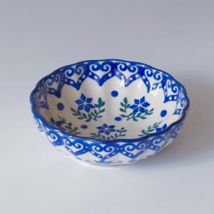 12cm フリルボウル  ポーリッシュポタリー Ceramika Artystyczna ツェラミカ アルティスティチナ セラミカ|maison-fleurie