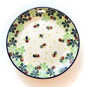 プレート 20cm ポーリッシュポタリー  ツェラミカ  アルティスティチナ カフェ 陶器 皿 食器 耐熱|maison-fleurie